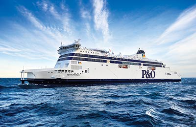 P&O Ferries del Mar del Norte